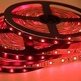 Signcomplex Tira de LED flexible 3528 SMD Cinta de LED con 3M cinta autoadhesiva 5m un carrete 12V...