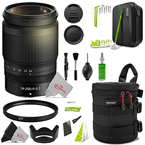 NIKKOR Z 24-200mm f/4-6.3 VR Import Model Lens + Accessory Kit