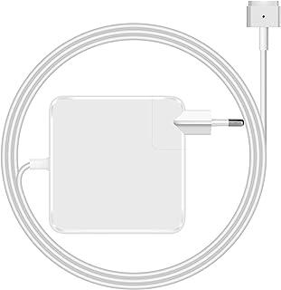 Mac Book Pro Charger 60w mag Safe 2 AC Adaptador de Corriente para MacBook Pro con Pantalla Retina 13 Reemplazo (2012-2015) Modelo de Punta magnética T