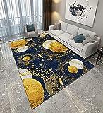 Alfombra moderna para salón (200 x 300 cm), para dormitorio de niños, de pelo corto, para sala de grandes cuadros, tamaño (EA7)