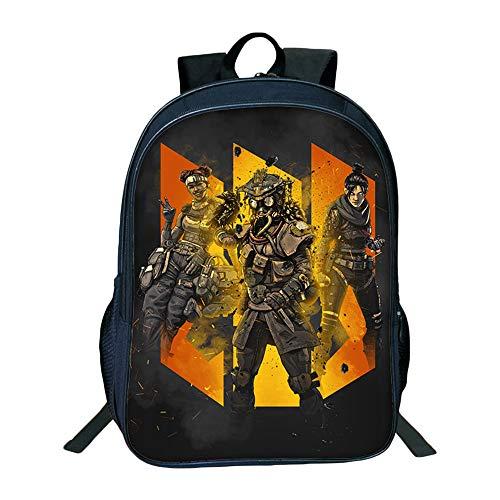 Nkaopjge Unisex Apex legends School Backpack Kids Practical Backpack