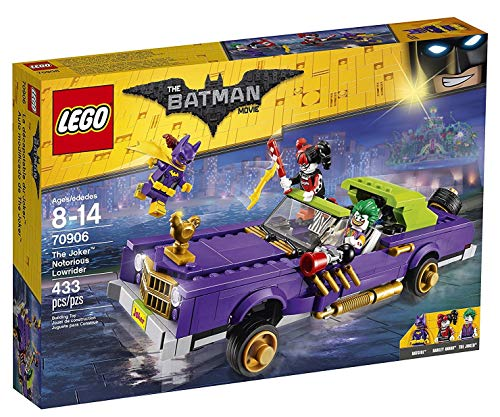 LEGO Batman - Coche Modificado de The Joker , 1 Unida, Modelos / Colores Surtidos (70906)