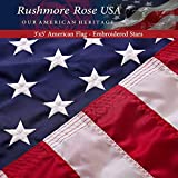 FMAA Certified 'Made in USA' Flag – When You Buy the American Flag - You Honor the Veterans who fought for the US Flag, our Freedom and our Future – Hope and Belief ! Display Your Patriotism & Feel the Emotion - Premium Quality US Flag 3 x 5 ft, Dura...