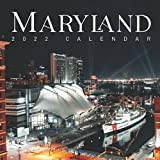 """Maryland 2022 Calendar: From January 2022 to December 2022 - Square Mini Calendar 8.5x8.5"""" - Small Gorgeous Non-Glossy Paper"""