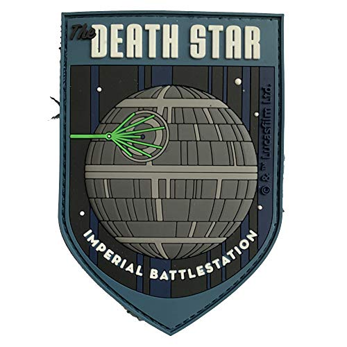 Musterbrand Star Wars Patch Unisex Death Star Multicolore ONE