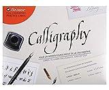 Vorlagen Für Kalligraphische Schriftart, Brause, Skizzenbücher, Kalligraphie. Tantiemenfreie Cliparts, Vektorgrafiken Und Stock-Illustration