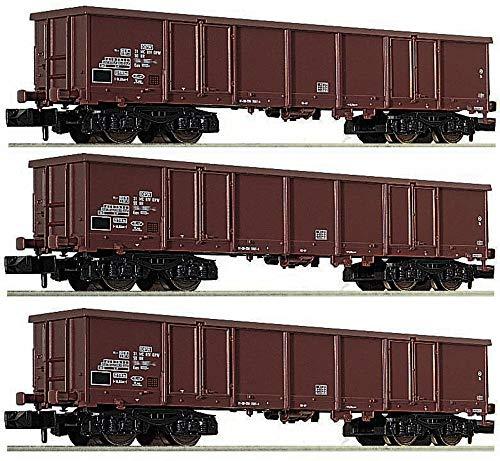 Fleischmann 828347 N 3er-Set Offene Güterwagen der DR