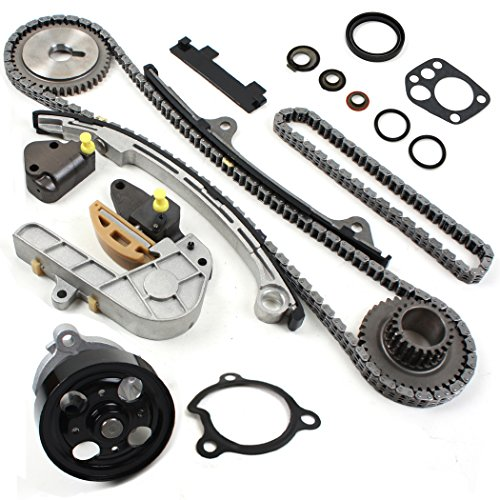 NEW TK10060WP Timing Chain Kit & Water Pump Set Compatible with 02-06 Nissan 2.5L Altima Sentra QR25DE