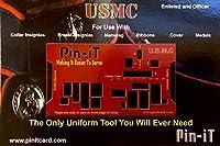 Pin-iT ミリタリーユニフォームツール (USMC Pin-iT カード)