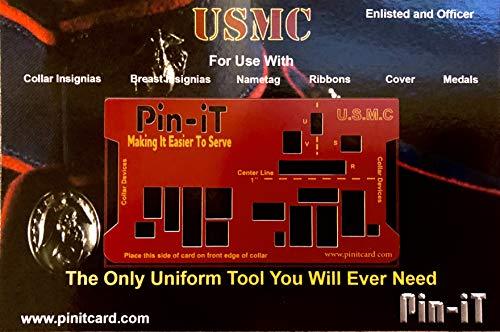 Pin-iT Military Uniform Tools (USMC Pin-iT Card)