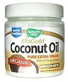 Natures Way Organic Extra Virgin Coconut Oil, 16 Ounce -- 3 per case.