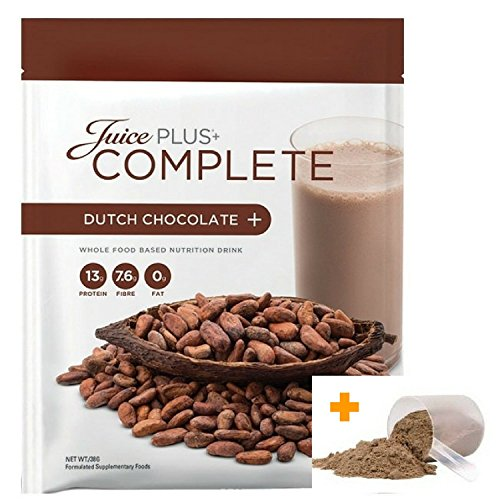 JUICE PLUS+® COMPLETE CHOCOLATE SHAKE 525g + FREE Scoop! RRP 5.99 EUR