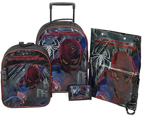sambros bag-8067-spm The Amazing Spiderman Set di valigie (4pezzi)