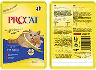 Procat Soft Adult with salmon in Jelly 100g
