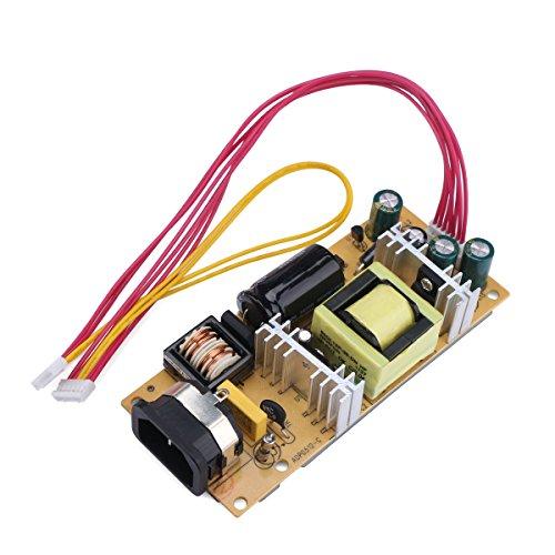 Droking AC 110V / 220V a DC 12V / 5V 3A Tarjeta de Fuente de alimentación de Salida Dual Adaptador Universal Ajuste para Pantalla LCD de 15~22 Pulgadas
