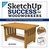 SketchUp Success for Woodworkers: Four Simple Rules to Create 3D Drawings Quickly and Accurately (English Edition)