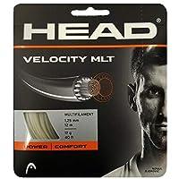 ヘッド [単張パッケージ品] ベロシティMLT Velocity MLT (125/130) 硬式テニス ストリング マルチフィラメントガット 281404 ゲージ:1.25mm ナチュラル [並行輸入品]