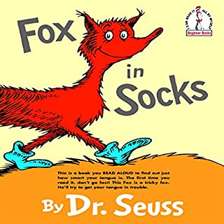 Fox in Socks audiobook cover art