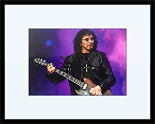 Framed Toni Iommi Black Sabbath Autograph with Certificate of Authenticity