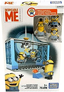 Mega Bloks Despicable Me Factory Fiasco