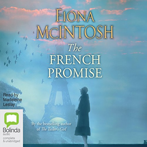 The French Promise                   De :                                                                                                                                 Fiona McIntosh                               Lu par :                                                                                                                                 Madeleine Leslay                      Durée : 15 h et 25 min     Pas de notations     Global 0,0
