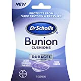 Dr Scholl's Duragel Bunion Cushion, 5 Count