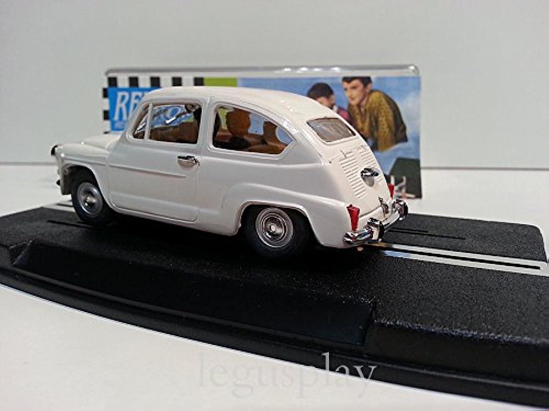 bienvenido a elegir Reprojoec Slot Scalextric Ref. 1954 Seat 600 600 600 blancoo  buen precio