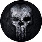Slipmat Slip Mat Scratch Pad Felt for any 12' LP DJ Vinyl Turntable Record Player Custom Graphical - skull