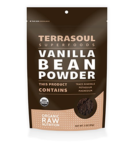 Terrasoul SuperfoodsOrganicVanilla Bean Powder
