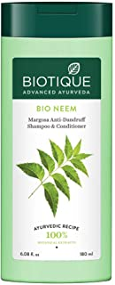 Biotique Bio Neem Margosa Anti Dandruff Shampoo and Conditioner, 180ml