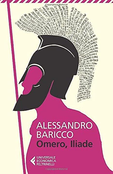 Omero, iliade (italiano) copertina flessibile feltrinelli traveller 978-8807881435