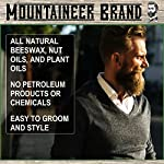 Mustache Wax by Mountaineer Brand (2oz)   All-Natural Beeswax and Plant-Based Oils for Moustache   No Petroleum… 5
