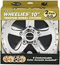 Good Vibrations 180 2 Count Tractor Wheel Covers, 10-Inch