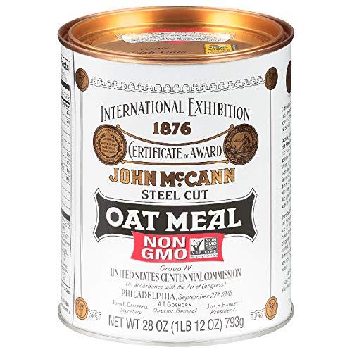 McCann's Irish Oatmeal, Traditional Steel Cut, 28 Ounce, Pack of 4