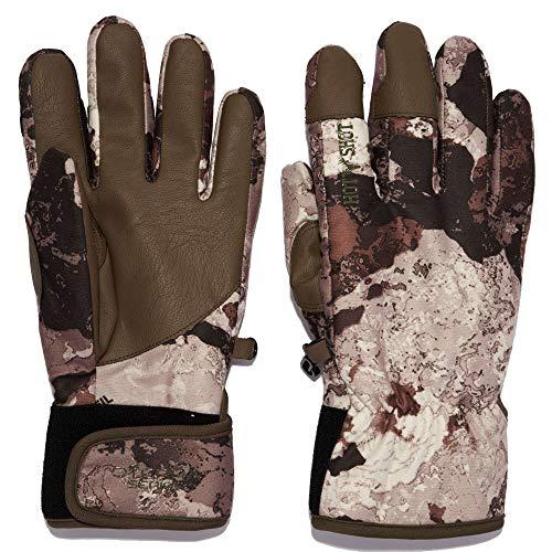 HOT SHOT Men's Camo Predator Gloves – Veil-Cervidae Outdoor Hunting Camouflage Gear