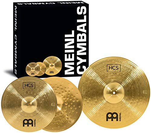 Meinl Cymbals HCS Basic Cymbal Set Box Pack with 14 inch Hihats and 18 inch...