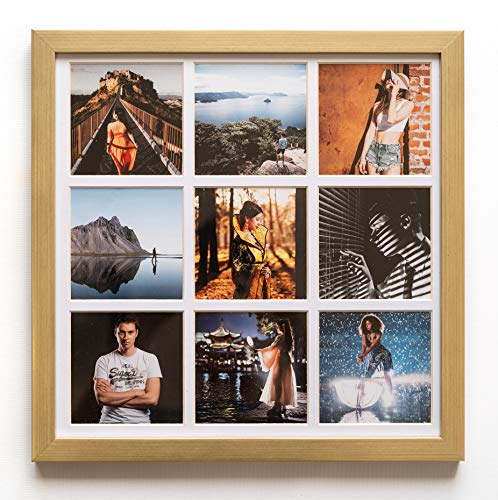 Chêne Cadre Photo Bois Photo Case Mural Image Mount Photo Stand Hang
