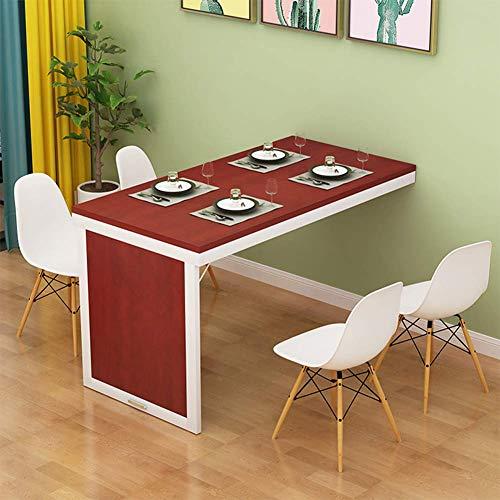 Apple-hout kleur massief hout eco plank wandklep geschikt voor kleine ruimtes laptop Praktische ruimtebesparende gastronomie Het kan in totaal je ruimte verbeteren.