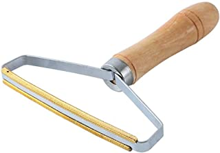 Manual Fabric Shaver Wooden Lint Roller, Portable Lint Shavers Clothes Fuzz Shaver, For Efficient Restoring Coat and Fabrics