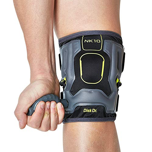 Disk Dr AIR Knee Brace Support & Compression for Patella, ACL/PCL Protection, Knee Support for Sports (Home Gym/Running)