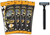 BIC RAZORS 3 Action Maquinillas Desechables para Hombre, Pack of 4