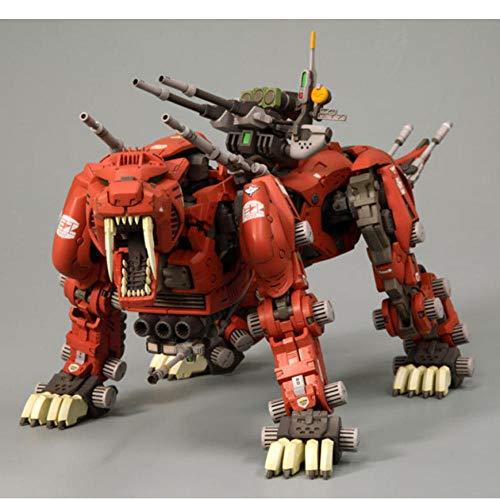 VENDISART Figura de acción de Anime Zoids Saber Tiger Gundam Modelo ensamblado Figura de acción de Anime Juguetes Asamblea Cumpleaños