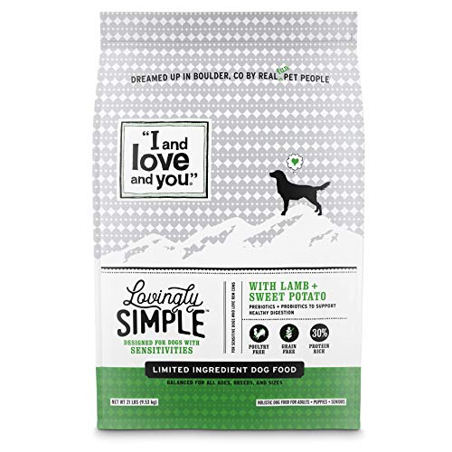 'I and love and you' Lovingly Simple Dry Dog Food...