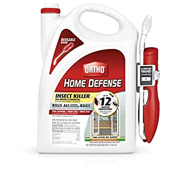 Ortho Home Defense Insect Killer for Indoor & Perimeter2  with Comfort Wand  1.33 gal