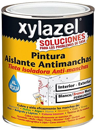 Xylazel 0860203 Pintura Aislante Antimanchas, 750 ml