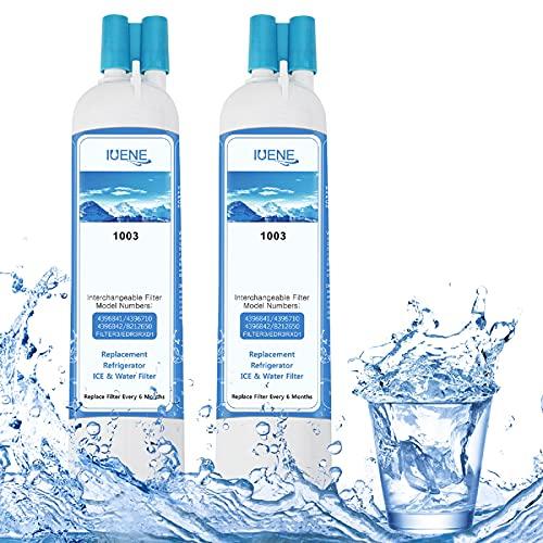 IUENE 9083 Refrigerator Water Filter Replacement,...