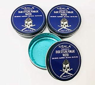 Cera para pelo de hombre - Neala Water (efecto mojado) - Pack 3 latas x 150ml