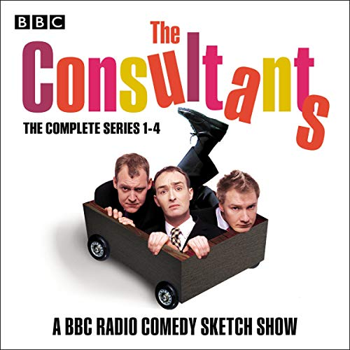 The Consultants: The Complete Series 1-4  By  cover art