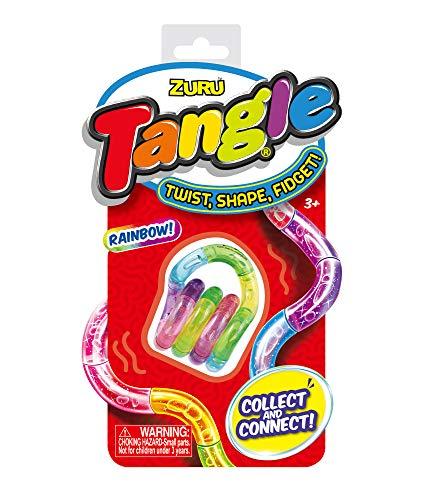 Tangle Crush, sortiert, therapeutisches Spielzeug, ideal zum Stressabbau, fördert Koordination und Feinmotorik, beliebig drehbar
