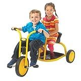 Angeles Kids Children Mini MyRider Tandem with Yellow Powder Coated Frame
